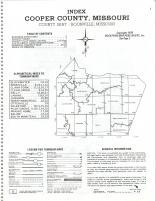 Index Map, Cooper County 1978